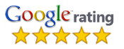 Rated 5-Star by google